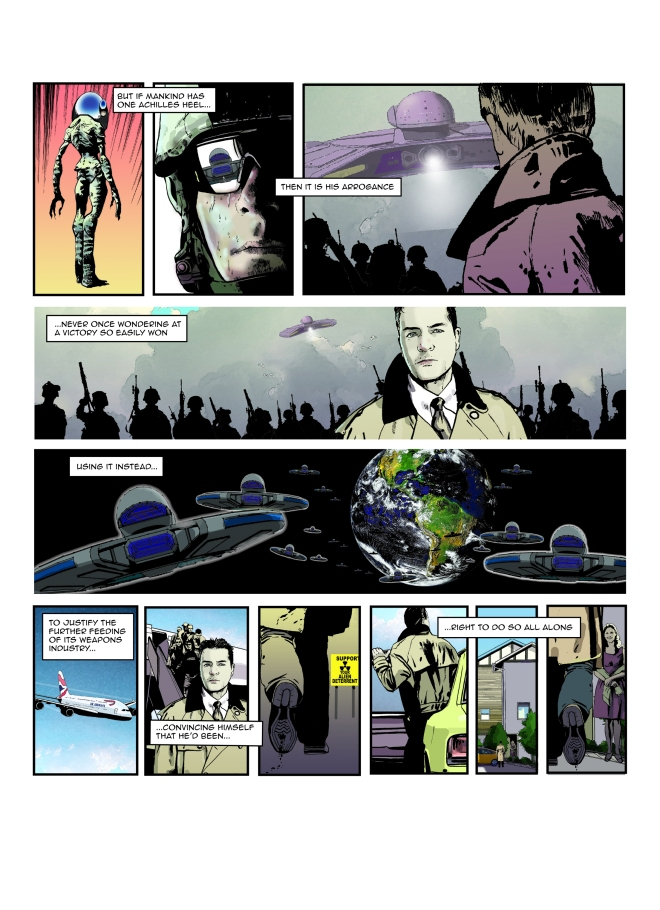 Page 2: Writer Dave West, Accent UK: Artwork: Joe Campbell