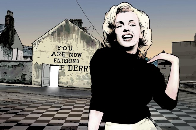 MARILYN AT FREE DERRY