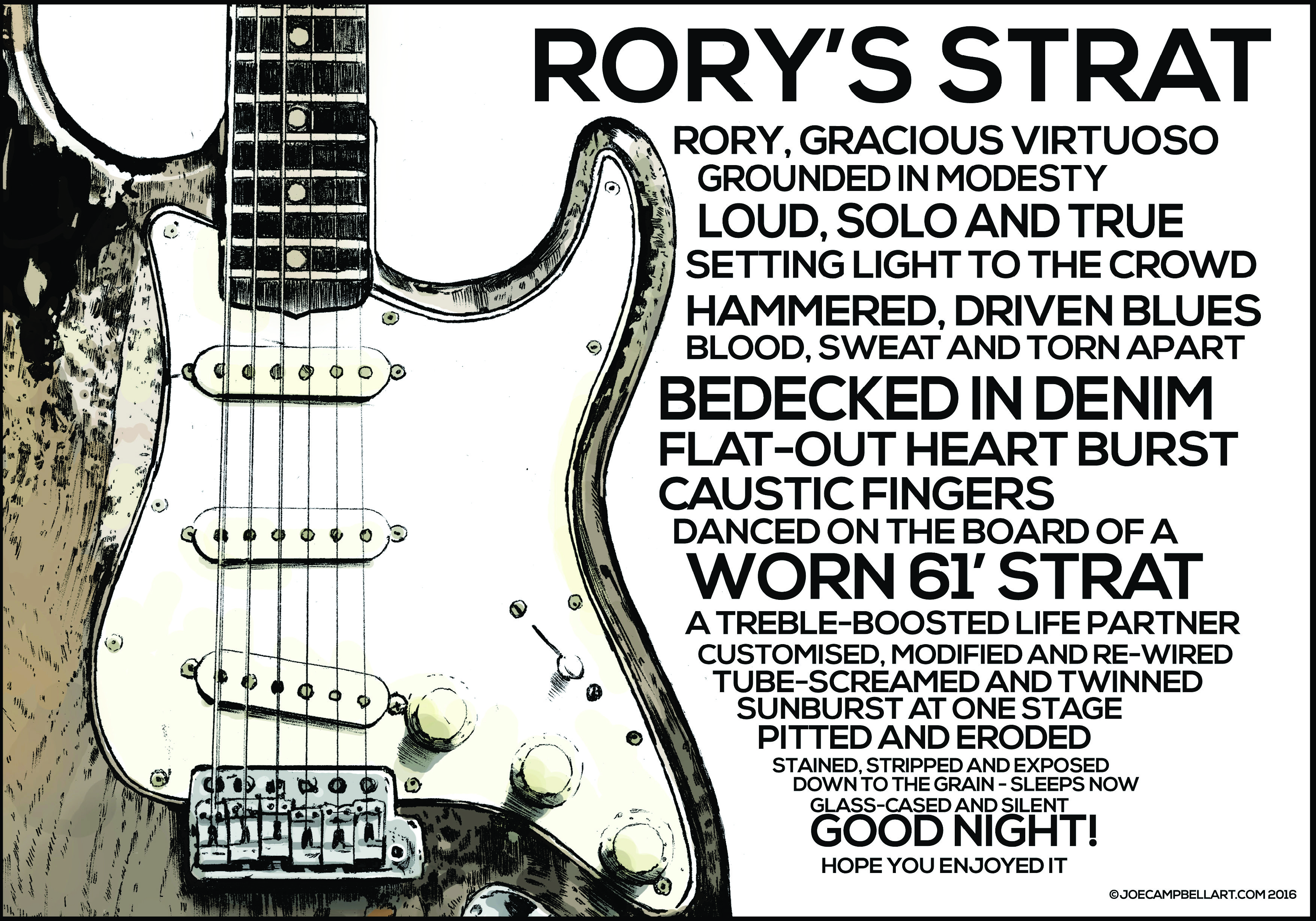 RORY'S STRAT